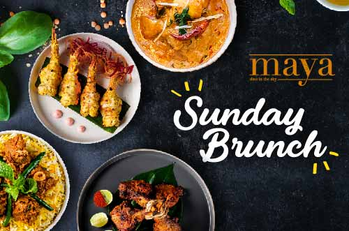 Indian Sunday Brunch at Maya Restaurant, Holiday Inn Bangkok Sukhumvit