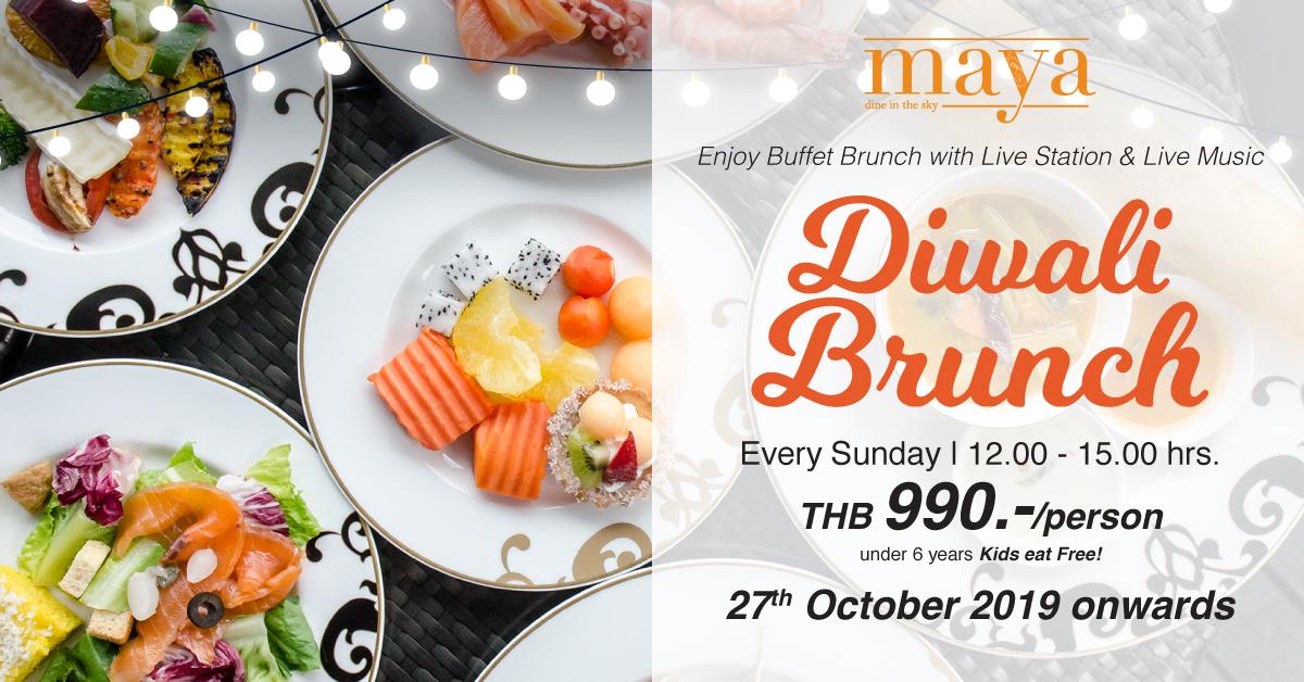 Diwali Brunch 2019 at Maya Restaurant