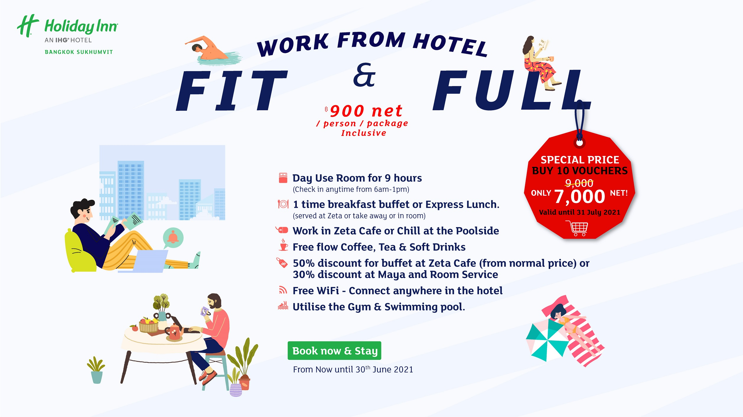 Work From Hotel Fit & Full Package