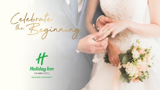 Wedding Package at Holiday Inn Bangkok Sukhumvit
