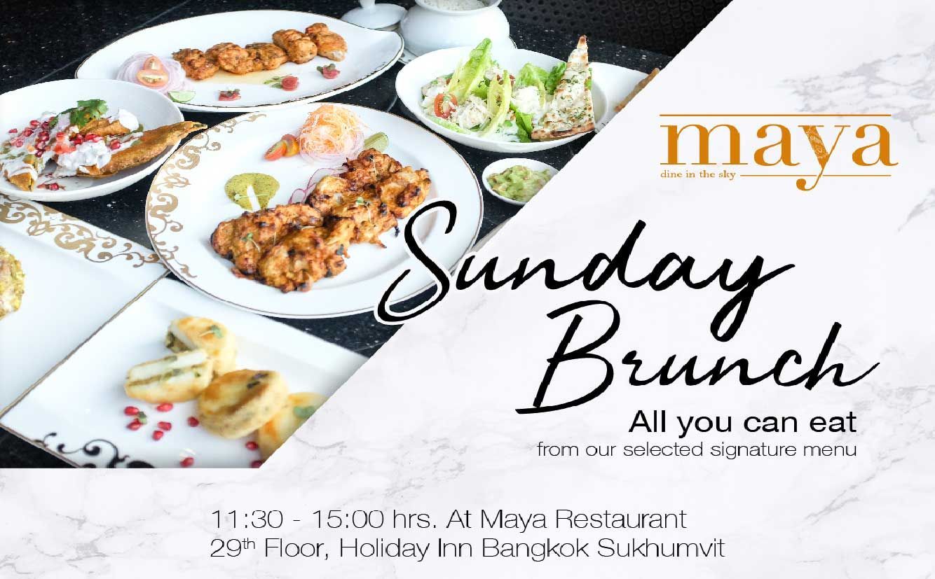 Maya Sunday Brunch