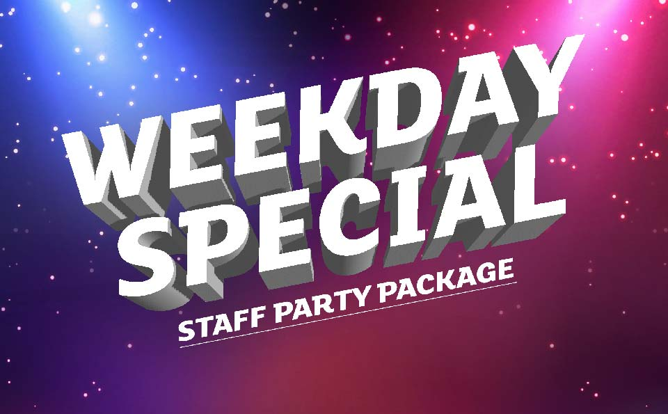 Weekday Party Package