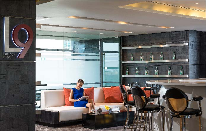 Executive Lounge at Holiday Inn Bangkok Sukhumvit